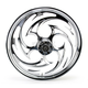 Front Chrome 21 x 2.15 Savage One-Piece Wheel - 21215-9913-85C