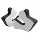 White 3D Cheekpad Set for SE3 Helmets