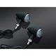 Matte Black Torpedo Turn Only Indicator Lights - 2510