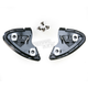 Black Base Plate Set for RF-1200 Helmet Series - 0209-0505-00