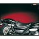 12 in. Wide Bare Bones Smooth Solo Seat w/Biker Gel - LG-008