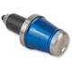 Stainless Steel/Blue Bar Ends - DBEW-SS-BL