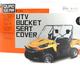 Black UTV Bench/Bucket Seat Cover - 18-138-010403-0