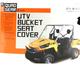 Black UTV Bench/Bucket Seat Cover - 18-137-010403-0