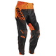 Black/Flo Orange Core Hux Pants