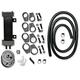 Deluxe 6-Row Vertical Frame-Mount Oil Cooler Kit - 750-1000