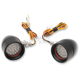 Mini Bullet Amber LED Turn Signals - MBB-20