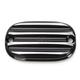 Contrast Cut Nostalgia Rear Brake Master Cylinder Cover - 0208-2121-BM