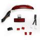 LED Running Light/Brake Light Assembly with Red Lens - 2010-1160