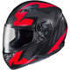 Flat Black/Red MC-1F CS-R3 Treague Helmet