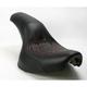 Tattoo Profiler Seat w/Dark Red Stitch - 800-01-0514