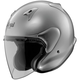 Aluminum Silver White XC Helmet