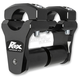 Black Anodized 2 in. Pivoting Handlebar Risers - 1R-P2PPS10K
