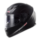 Matte Black Stream FF328 Full Face Helmet