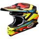 Red/Yellow/Blue VFX-W Capacitor TC-3 Helmet