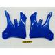 YZ Blue Radiator Shrouds - 2043910211