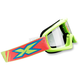 Youth Fluorescent Yellow X-Grom Goggles - 067-30160
