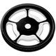 Rear Cush-Drive Aluminum Pulleys - 0093-7268UNVLBM