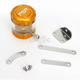 Gold/Clear Front Brake Reservoir - 04-01805-23