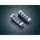 Chrome ISO Grips - 6366
