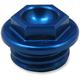 Blue Aluminum Oil Filler Plug - 24-030