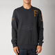 Heather Black Smug Crew Sweatshirt