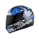 Black/Blue EXO-R410 Novel Helmet