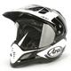 Black/White Explore XD4 Helmet