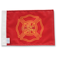6 in. x 9 in. Firefighter Flag - FLG-FIRF