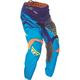 Blue/Orange/Yellow Kinetic Trifecta Pants