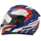 Red/White/Blue FX-95 Airstrike 2 Helmet