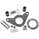 Black Carb Support Bracket and Breather Kit - DM-52B