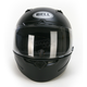 Matte Black Vortex Helmet - Convertible To Snow