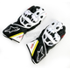 Black/White/Flourescent Yellow/Red GP Plus Leather Glove