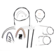Black Pearl Designer Series Handlebar Installation Kit for Use w/12 in. - 14 in. Ape Hangers (Non-ABS) - 487251