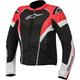 Womens Black/White/Red Stella T-GP Plus R Air Jacket