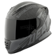 Black/Gray Quick and the Dead SS1310 Helmet