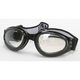 Black G-902 Goggles w/Clear Mirror Lens - G-902BK/CLM