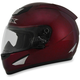 Wine Red FX-95 Helmet