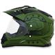 Flat Olive Drab FX-39DS Dual Sport Hero Helmet