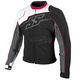 White/Red/Black Hammer Down Textile Jacket