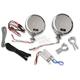 Chrome Rumble Road Limited Amplified Speakers for 1 in. Handlebars - 221