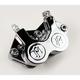 Chrome 4-Piston Caliper (125 x 4s) - 0052-2200-CH