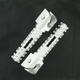 Silver SBK Pegs for OEM Mounts - 02-01202-21