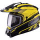 Black/Yellow GM11S Trekka Snow Sport Snowmobile Helmet