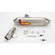 Factory 4.1 Natural Titanium Slip-On w/Stainless Midpipe - 041264