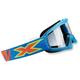 Youth Liquid Cyan X-Grom Goggles - 067-30180