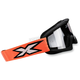 Youth Black/Fluorescent Orange X-Grom Goggles - 067-30185