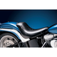 13 in. Wide Silhouette Smooth Solo Seat w/Biker Gel - LGK-850