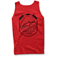 Red Counter Tank Top